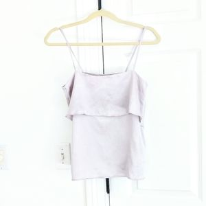 H&M tiered strappy tank top